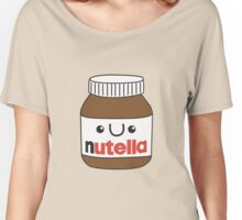 Kawaii Nutella Women's Relaxed Fit T-Shirt