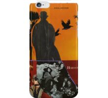 man in a hat iPhone Case/Skin