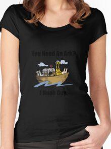 Noah Ark Women's Fitted Scoop T-Shirt