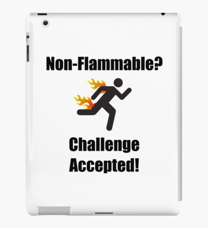 Non Flammable iPad Case/Skin