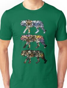 Triple Tiger Unisex T-Shirt