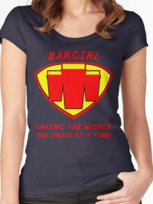 Bargirl Women's Fitted Scoop T-Shirt