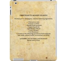 Directions to monkey island iPad Case/Skin