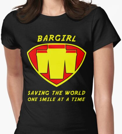 Bargirl Womens Fitted T-Shirt