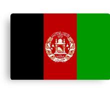 Afghanistan Flag Merch! Canvas Print