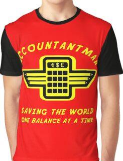 Accountantman Graphic T-Shirt