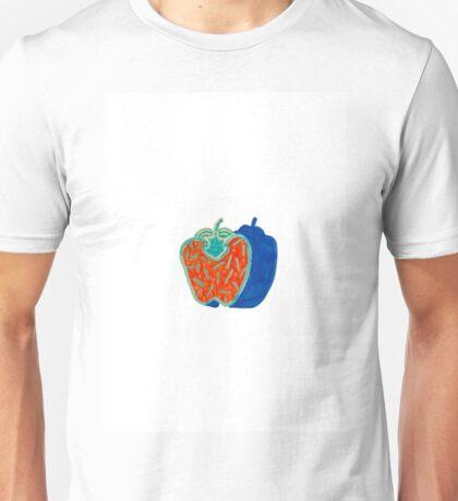 poivron rouge Unisex T-Shirt