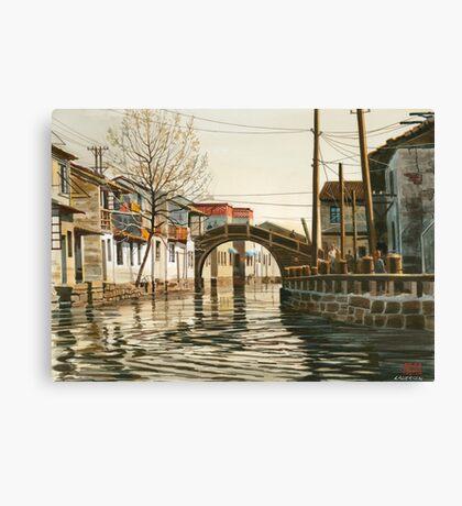 China waterway Canvas Print