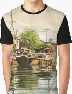 Chinese Countryside Graphic T-Shirt