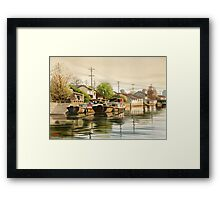 Chinese Countryside Framed Print
