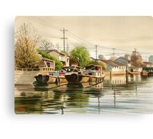 Chinese Countryside Canvas Print