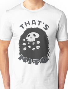 That's Nito (colored text!) Unisex T-Shirt
