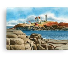 New England Lighthouse Canvas Print