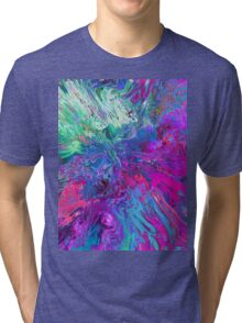 Abstract 40 Tri-blend T-Shirt