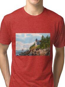 New England Coastline Tri-blend T-Shirt