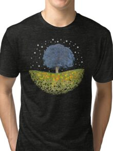 Starry Night Sky Tri-blend T-Shirt