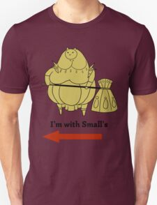 I'm with small's Unisex T-Shirt