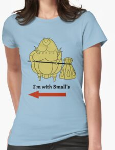 I'm with small's Womens Fitted T-Shirt