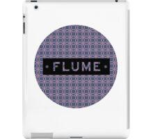Flume - round iPad Case/Skin