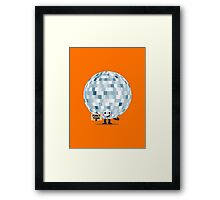 Character Building - Won't you take me to, Funky Town Framed Print