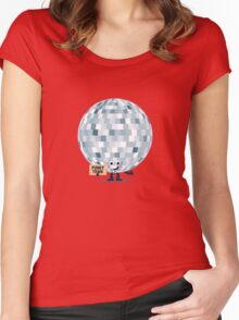 Character Building - Won't you take me to, Funky Town Women's Fitted Scoop T-Shirt