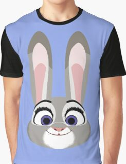 Judy Hopps on the Case Graphic T-Shirt
