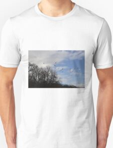 winter walks Unisex T-Shirt
