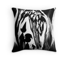 Over the Garden Wall (inversed) Throw Pillow