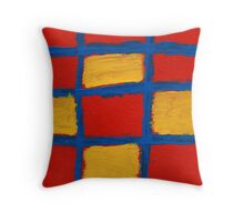 Super Grid Throw Pillow
