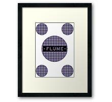 Flume - MultiRound  Framed Print