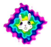 Drugs Bunny Photographic Print