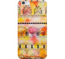 Pattern Play, Red and Yellow iPhone Case/Skin