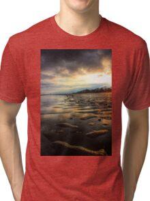 East Beach Sunset Tri-blend T-Shirt