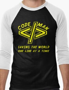 Codeman Men's Baseball ¾ T-Shirt