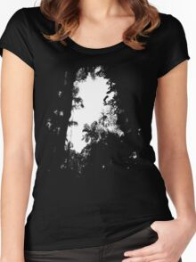 A break in the jungle Women's Fitted Scoop T-Shirt