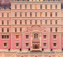 The Grand Budapest Hotel Sticker