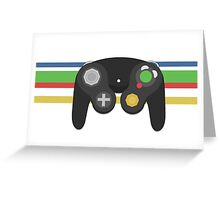 Gamecube Controller Greeting Card