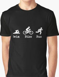 Triathlon Graphic T-Shirt