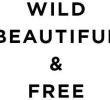 Wild, Beautiful, & Free Sticker