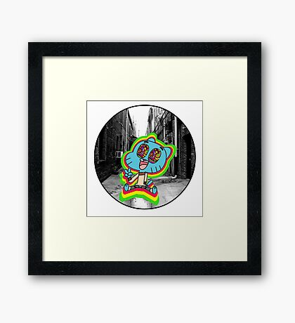 Escapism Framed Print