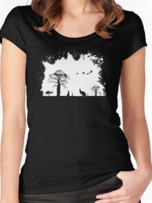 Wild Australia Women's Fitted Scoop T-Shirt