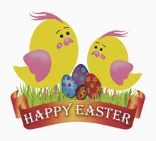 Easter Chicks Kids Tee
