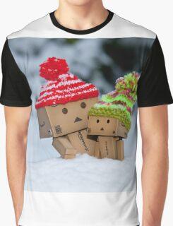 Cardboard Robots Graphic T-Shirt