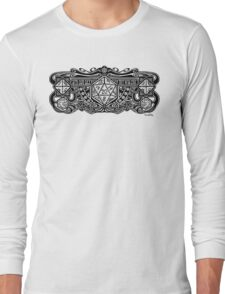 Dice Deco D20 Long Sleeve T-Shirt
