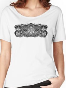 Dice Deco D20 Women's Relaxed Fit T-Shirt