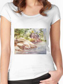 akwarelka 23 Women's Fitted Scoop T-Shirt