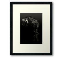 T-Rex Portrait Framed Print