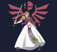 Smash Bros - Zelda One Piece - Short Sleeve