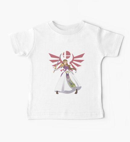 Smash Bros - Zelda Baby Tee