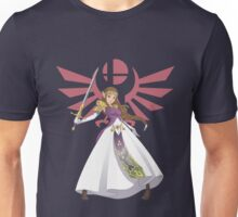Smash Bros - Zelda Unisex T-Shirt